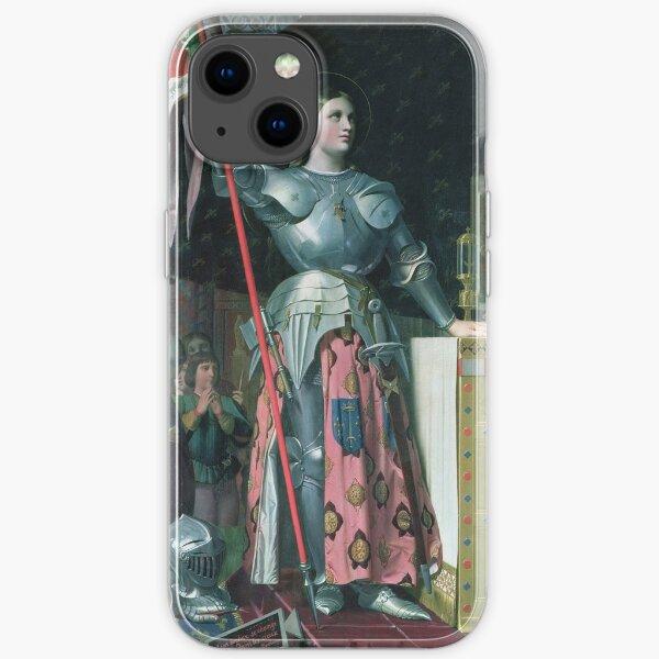Jean - Auguste - Dominique Ingres - Joan Of Arc  iPhone Soft Case
