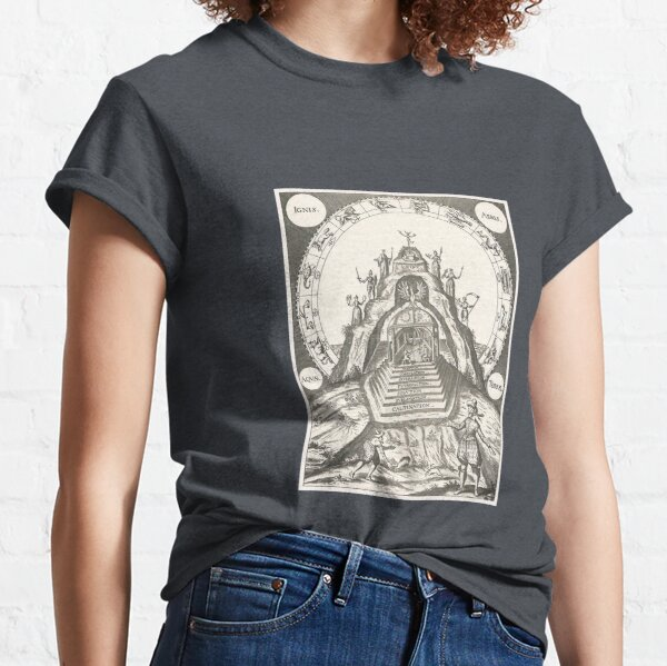 Mountain of the Philosophers  Classic T-Shirt