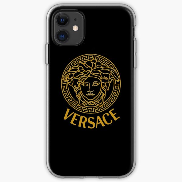 get your luxury with Versace Medusa iPhone Soft Case