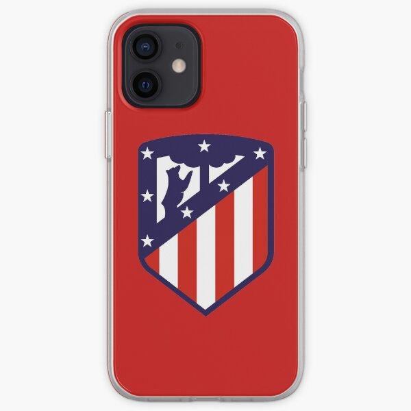 Atlético de madrid Funda blanda para iPhone