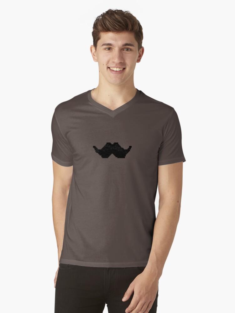 Pixel Mustache by ZVDK