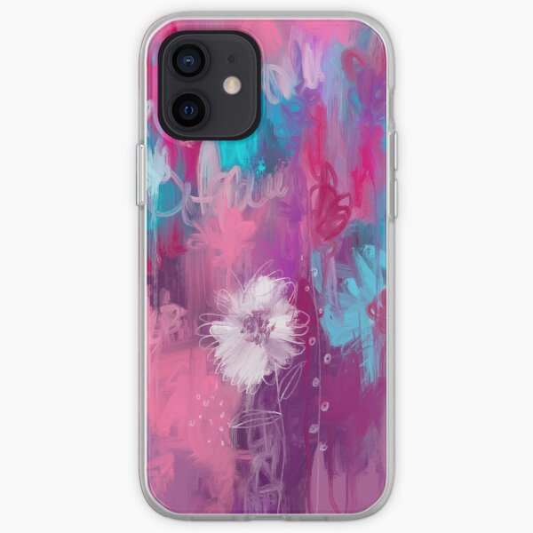 Lilac and Purple Meadow iPhone Soft Case