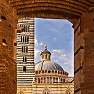 Archway to Siena Cathedral  by vivsworld