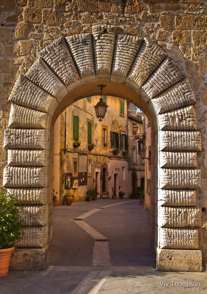 Gateway to Sorano, Tuscany by vivsworld