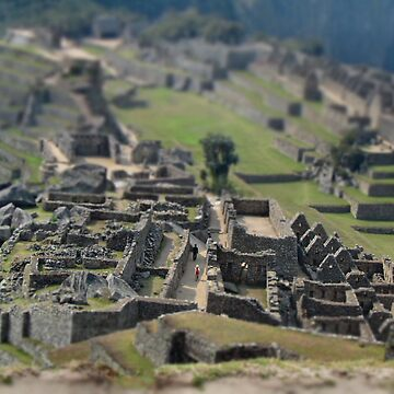 Mini Machu Picchu by ClaireWroe