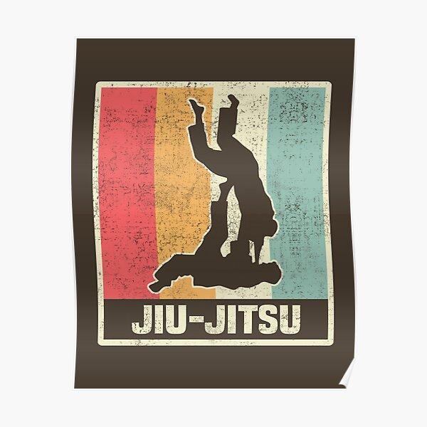 Jiu Jitsu Vintage BJJ Poster