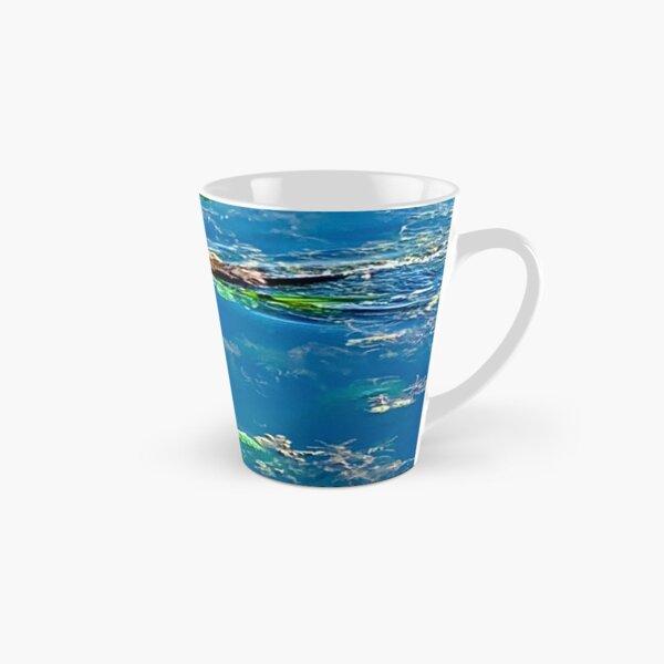 Muskrat Doing a Swim Tall Mug