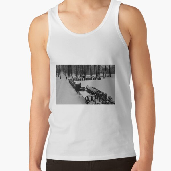 Beautiful Snow in the Park Tank Top