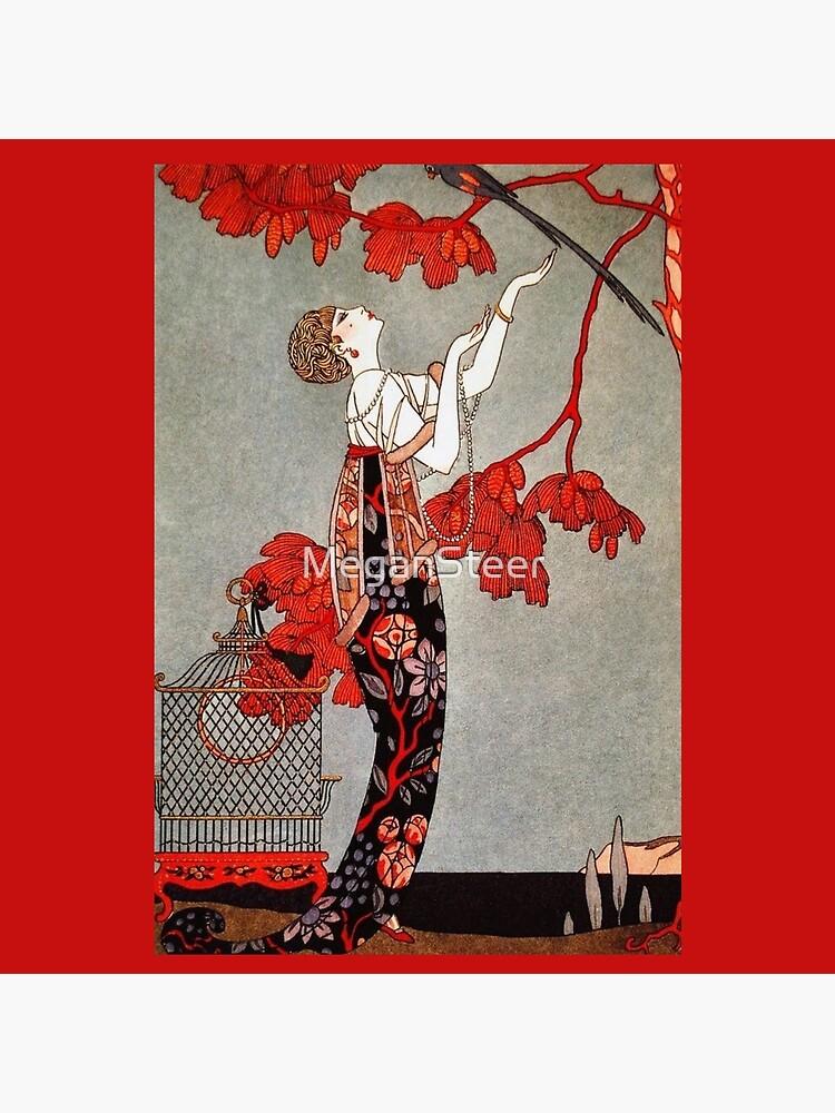 L'Oiseau Volage by George Barbier, 1914 by MeganSteer