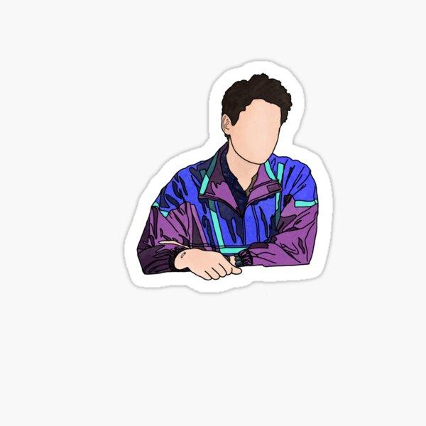 John Mayer New Light Portrait Sticker