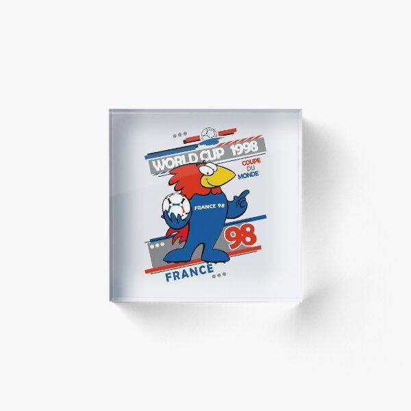 Footix - France 98 Acrylic Block