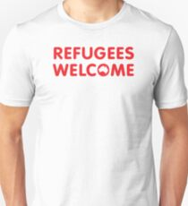 Refugees Welcome Australia (Red) T-Shirt
