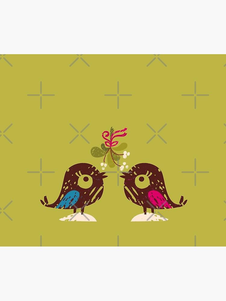 Christmas Love Birds by rusanovska
