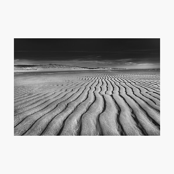 Unusual Tranquility - Black and White Photography Photographic Print