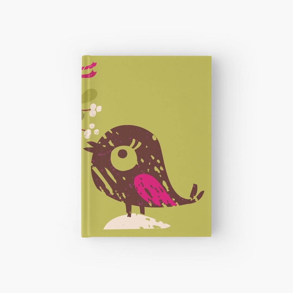 Christmas Love Birds Hardcover Journal
