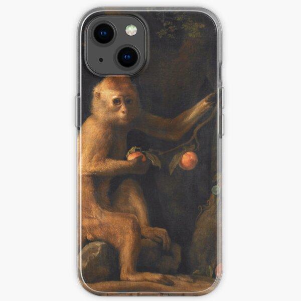 George Stubbs - A Monkey 1799 iPhone Soft Case