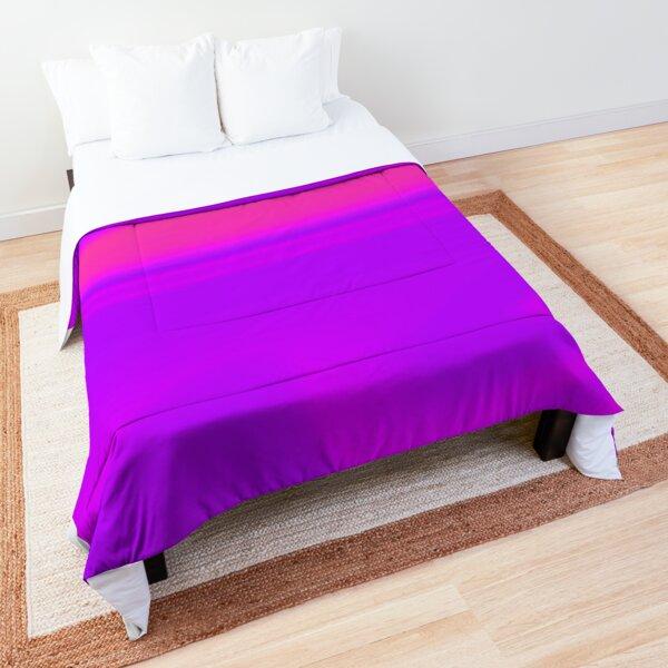 Lignes violettes Couvre-lit