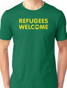 Refugees Welcome Australia (Yellow) T-Shirt