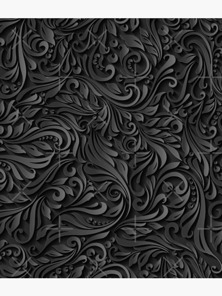 Dark Floral by FantasySkyArt