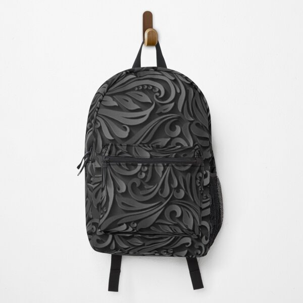 Dark Floral Backpack
