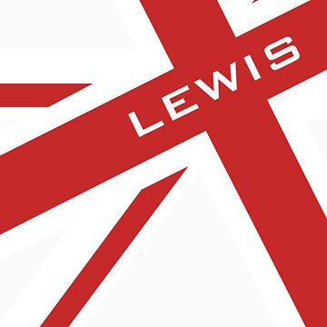 Lewis Hamilton - Union Jack by RetroLink