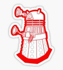 Red is dead! EXTERMINATE!!! Sticker