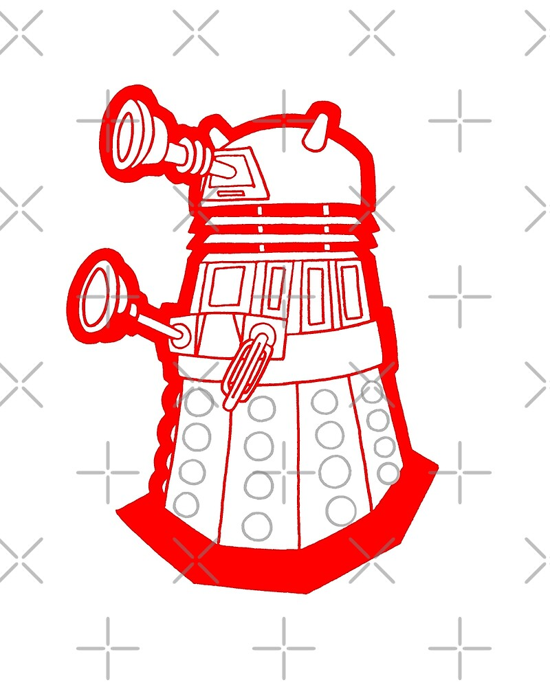 Red is dead! EXTERMINATE!!! by joshatomic