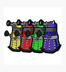 Beware the Daleks! Photographic Print