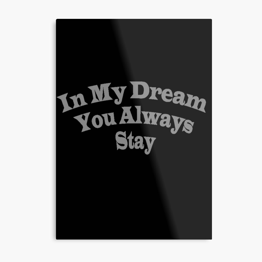 In My Dream You Always Stay Inception Lucid Dreams 2 Canvas Print By Ismailrizk Redbubble
