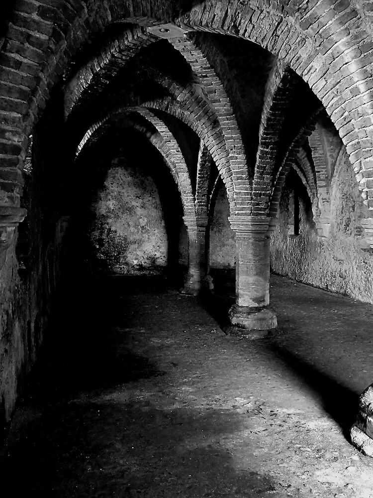 Gothic arches Blakeney Norfolk. by Paul Pasco