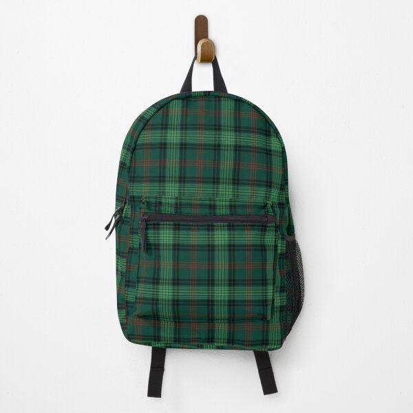 Clan Ross Hunting Tartan Backpack