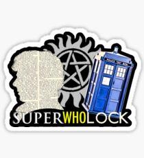 SuperWhoLock - Crossover MegaVerse Sticker