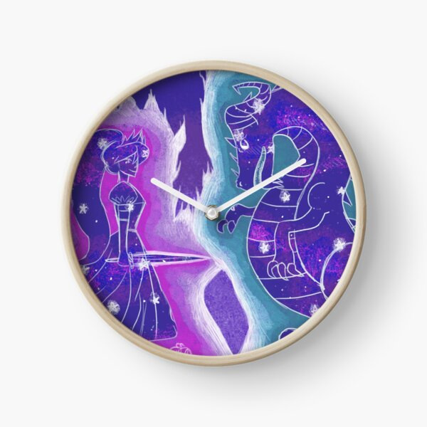 Starry Dreams Clock