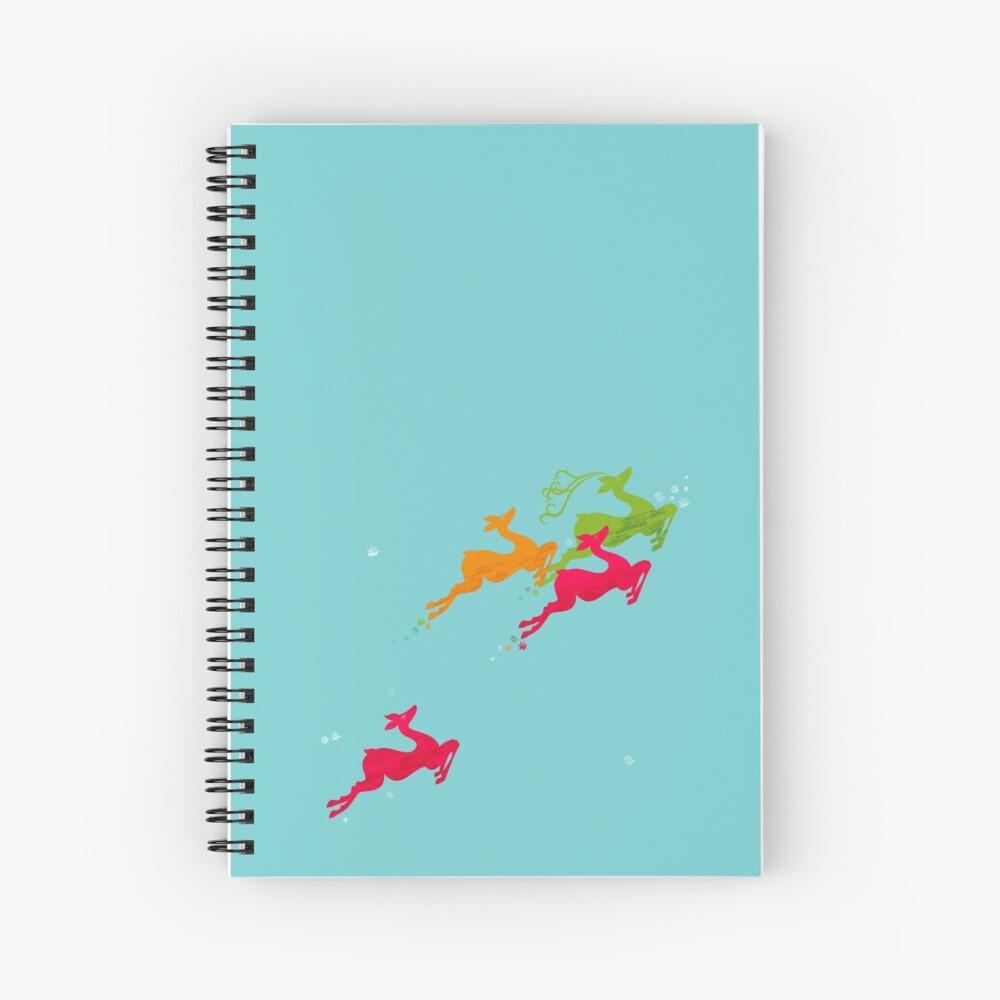 Winer Deer Spiral Notebook