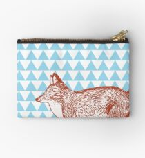 Edgy Fox Studio Pouch