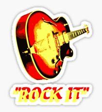 rock t-shirt Sticker