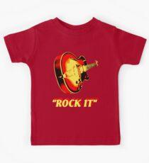 rock t-shirt Kids Tee
