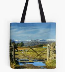 A Langdale View Revisited Tote Bag