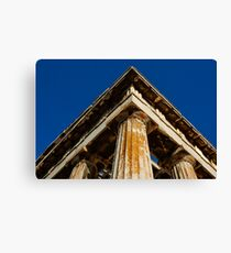 In Athens Canvas Print