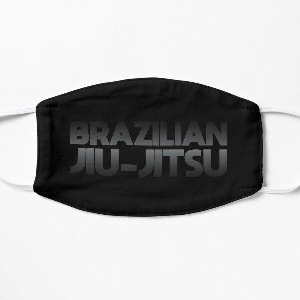 Dark Minimal Brazilian Jiu Jitsu BJJ Flat Mask