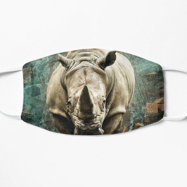 The Majestic Rhino Flat Mask