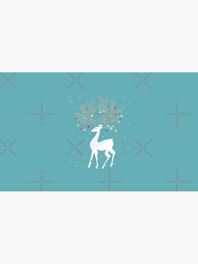 Magic Winter Deer by rusanovska