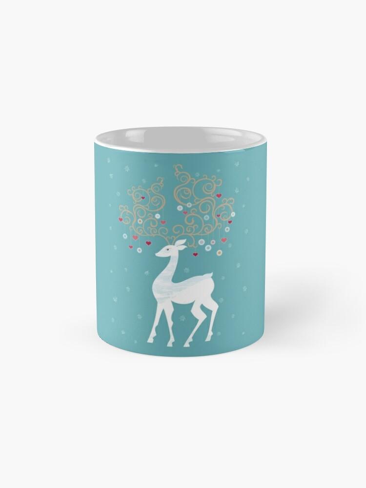 Alternate view of Magic Winter Deer Mug