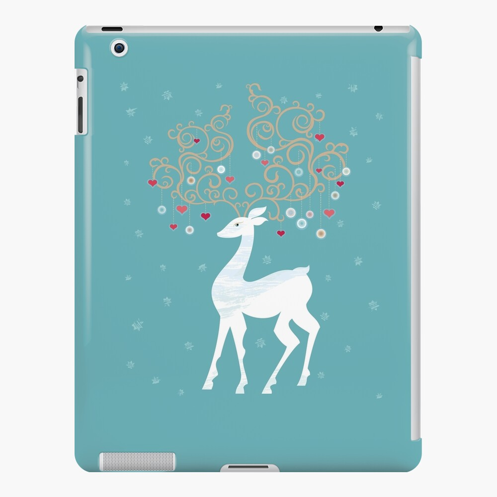 Magic Winter Deer iPad Case & Skin