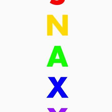 Snaxy - Rainbow by Snax17