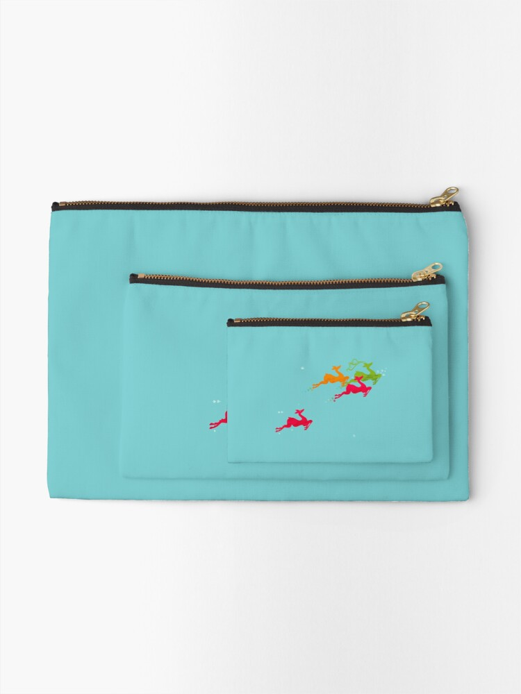 Alternate view of Winer Deer Zipper Pouch
