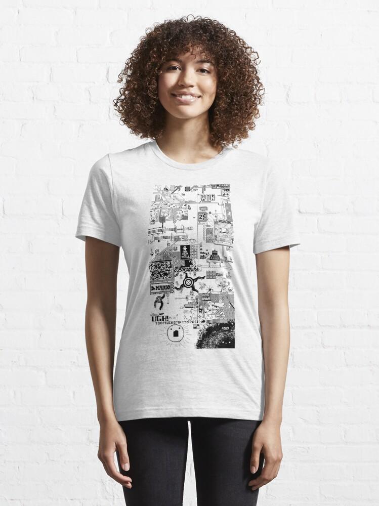 Vista alternativa de Camiseta esencial 100 Bit Shirt
