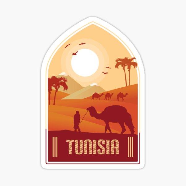 Tunisie Sticker