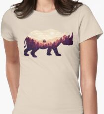 Rhinoscape Womens Fitted T-Shirt