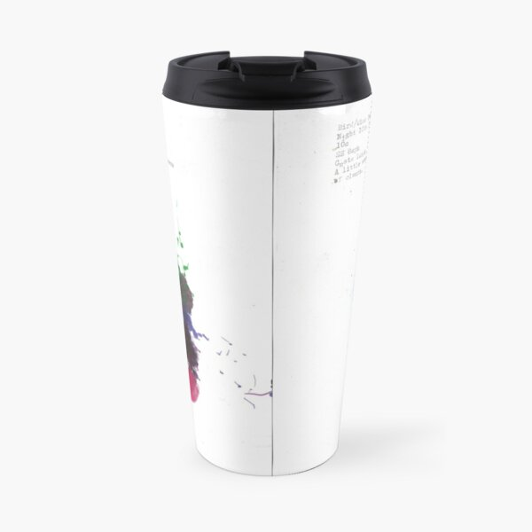 Bird and Wind drawings from the 10th June 2020 Travel Mug